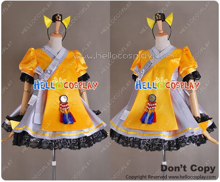 Vocaloid 3 SeeU Cosplay Costume Uniform Outfit H008