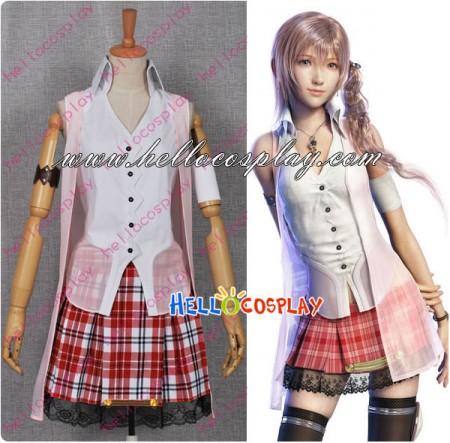 Final Fantasy XIII Cosplay Serah Farron Dress