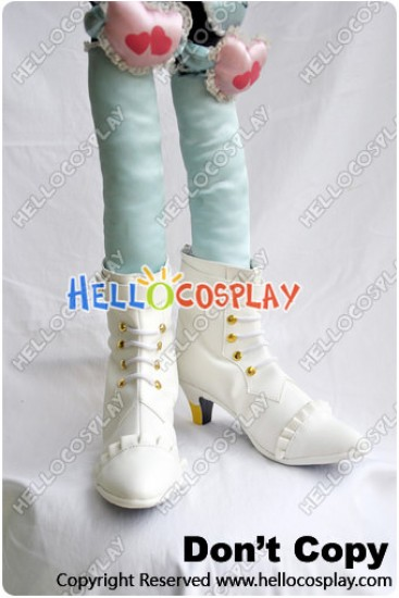Macross Frontier Cosplay Sheryl Nome Shoes New