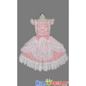 Sweet Lolita Gothic Punk Cute Light Pink Dress