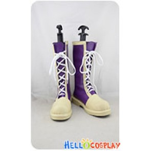 Katekyo Hitman Reborn Cosplay Shoes Kyoya Hibari Boots