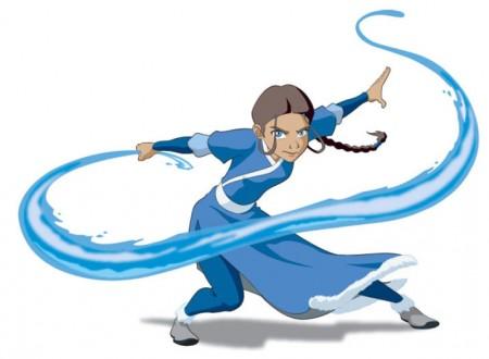 Avatar : The Last Airbender Katara Cosplay Costume