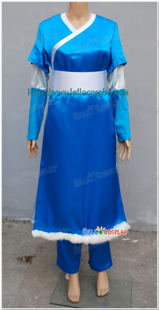 Avatar  The Last Airbender Katara Cosplay Costume