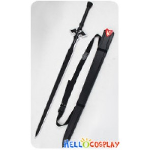 Sword Art Online II 2 : Caliber GGO Cosplay Kirito Kazuto Kirigaya Sword Prop Full Set