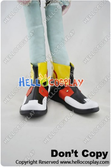 Pokemon Cosplay Shoes Gold Shoes