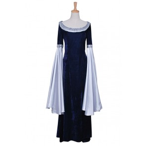 The Lord of the Rings Arwen Blue Dress Costume