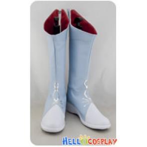 RWBY Cosplay White Trailer Weiss Schnee Boots