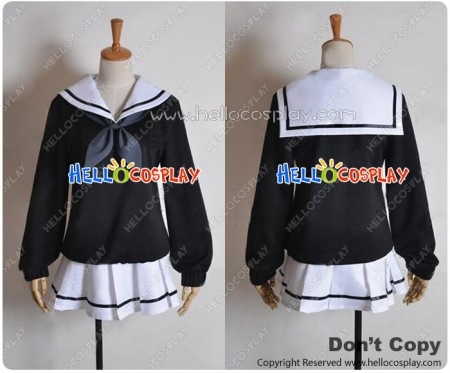 Kyousogiga Cosplay Koto Costume School Girl Sailor Uniform
