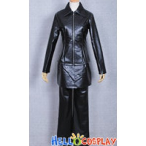 Togainu No Chi Costume Tomoyuki Black Leather Jacket