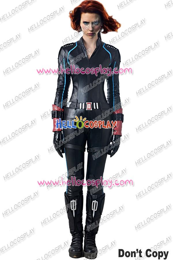 Avengers Age Of Ultron Black Widow Cosplay Costume