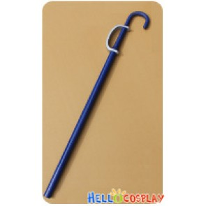 One Piece Cosplay Soul King Musician Brook Crutch Sword Weapon Prop