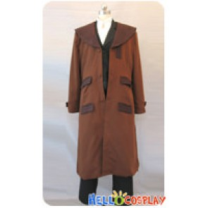 Fullmetal Alchemist Cosplay Edward Elric Brown Trench Coat Costume