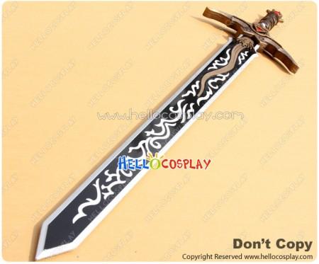 Garo Cosplay Ryuga Dougai Sword Golden Weapon Prop