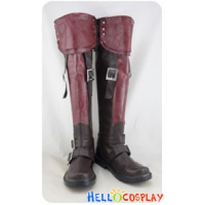 Final Fantasy FF13 Cosplay Shoes Lightning Long Boots