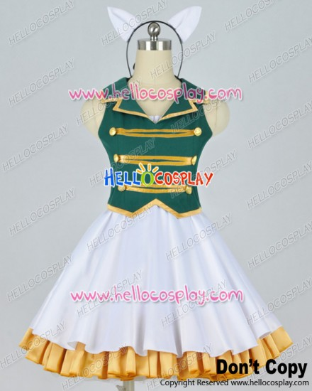 Vocaloid Ah It's A Wonderful Cat Life Aa Cosplay Subarashiki Nyan Gumi Dress Costume