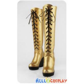 Vocaloid 2 Cosplay Boots Megurine Luka Boots