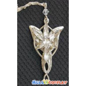 The Lord of The Rings Silver Arwen Evenstar Necklace