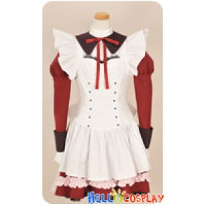 Mashiroiro Symphony Cosplay Angelina Nanatsu Sewell Maid Dress Costume