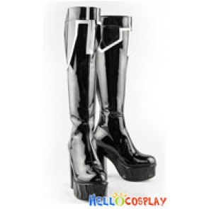 Black Rock Shooter Cosplay BRS Boots High Heels TV Version