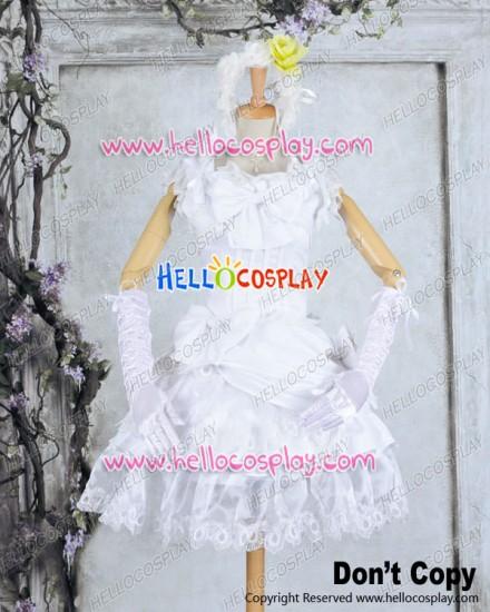 Black Butler Cosplay Elizabeth Costume Front Cover Formal Dress