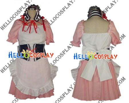 The Melancholy Of Haruhi Suzumiya Cosplay Costume Pink