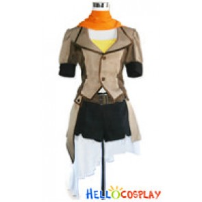RWBY Cosplay Yellow Trailer Yang Xiao Long Uniform Costume