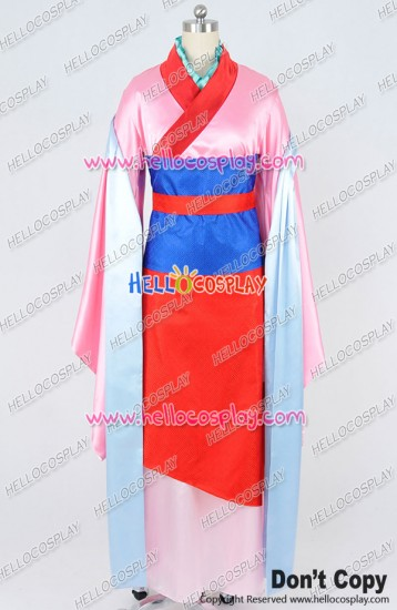 Ballad Of Mulan Hua Mulan Cosplay Costume Dress