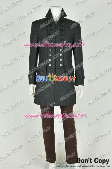 Sleepy Hollow Ichabod Crane Uniform Cosplay Costume Full Set