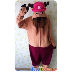 One Piece Cosplay Tony Tony Chopper Costume Kigurumi Pajamas