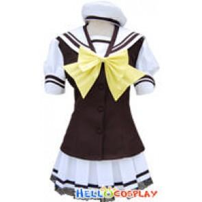 Shuffle Cosplay Costume School Uniform