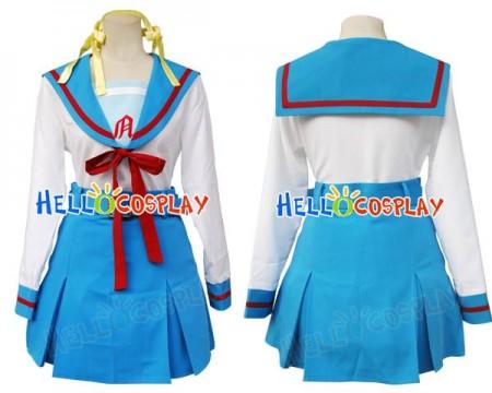 Suzumiya Haruhi Cosplay Costume
