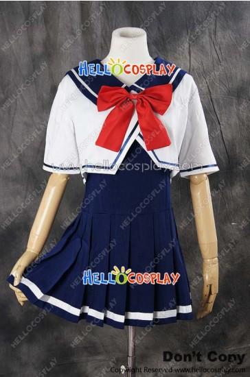 Vocaloid 2 Cosplay Hatsune Miku School Girl Uniform Costume
