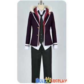 Diabolik Lovers Cosplay Laito Sakamaki Purple Uniform Costume