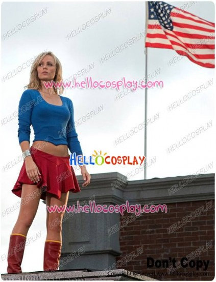 Superman Supergirl Cosplay Costume Dress