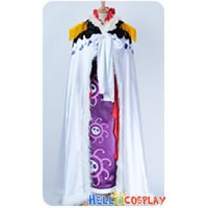 One Piece Cosplay Pirate Empress Boa Hancock Purple Full Set Costume