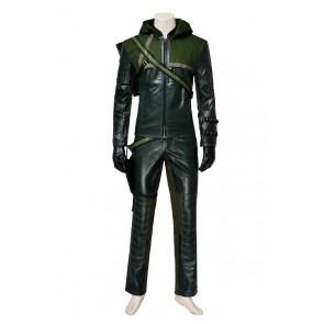 Green Arrow Season 1 Oliver Queen Cosplay Costume