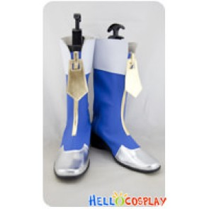BlazBlue Shoes Cosplay Noel Vermillion Boots New Ver