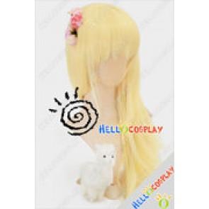 Vocaloid Cosplay Hatsune Miku Yellow Wig
