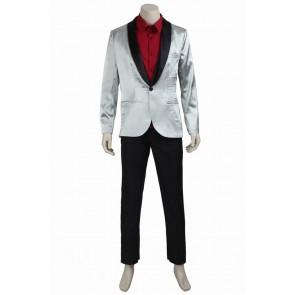 Suicide Squad Joker Batman Cosplay Costume Suit