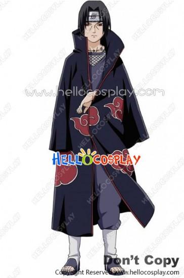 Naruto Cosplay Pian Tobi Itachi Cape Cloak Costume