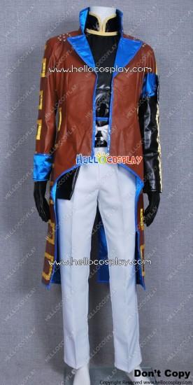 Devil Kings Sengoku Basara 2 Katakura Kojuro Cosplay Costume