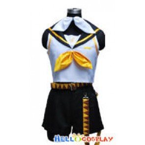 Vocaloid 2 Cosplay Kagamine Rin Costume
