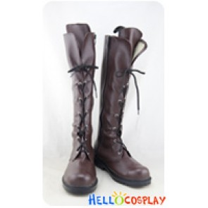 Riddle Story Of Devil Cosplay Tokaku Azuma Brown Long Boots