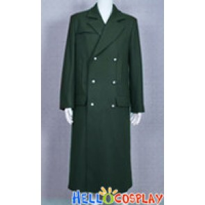 Doctor Costume Cyan Coat Series 6 Dr.