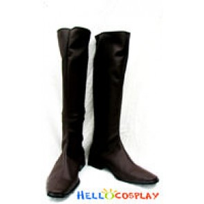 Trinity Blood Cosplay Blond Boots