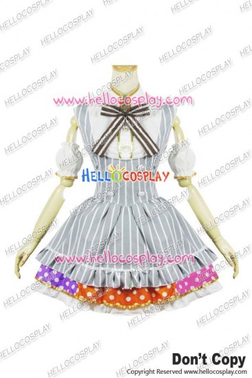 Love Live Cosplay Honoka Kousaka Maid Dress