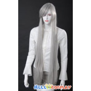 Cosplay Silver Grey Long Wig