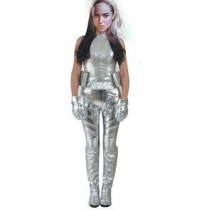 Green Arrow Season 4 White Canary Sara Lance Cosplay Costume