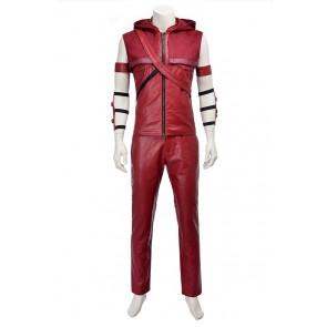 Green Arrow Roy Harper Speedy Red Arrow Cosplay Costume