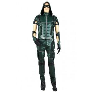 Green Arrow Season 4 Oliver Queen Cosplay Costume Combat Uniform